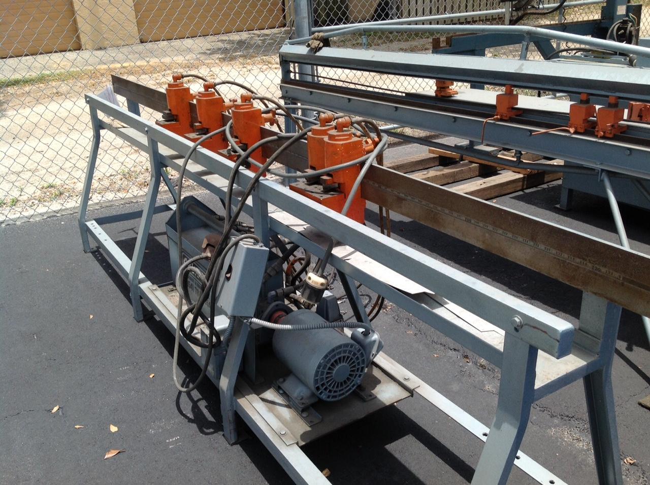 Pre Owned Lockformer 10 Speed Notcher Stock Ul365 Sold