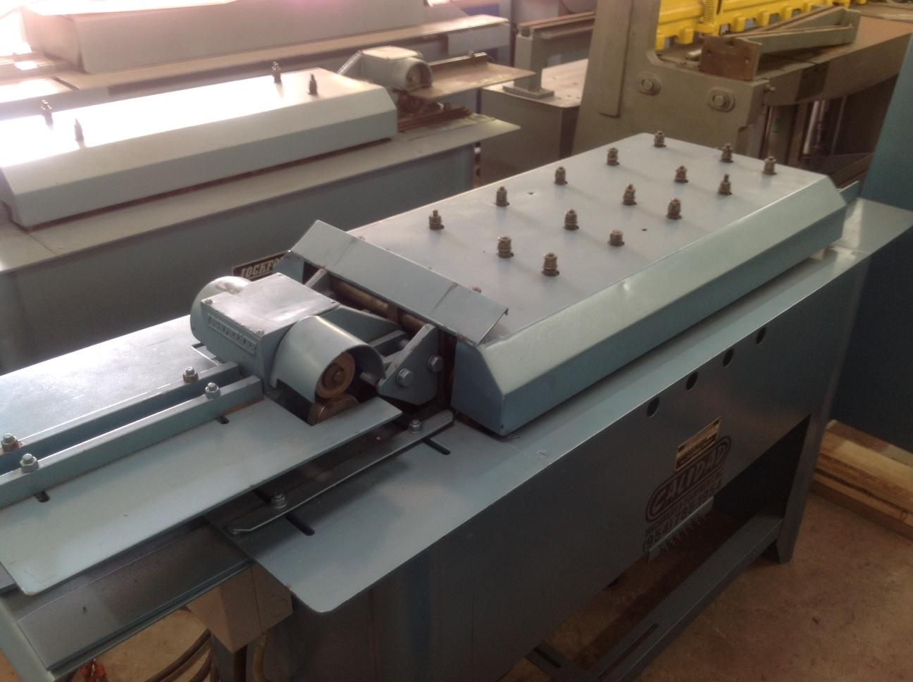 Pre Owned Lockformer Triplex Cleatformer Stock Ul443