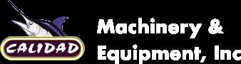 Calidad Machinery